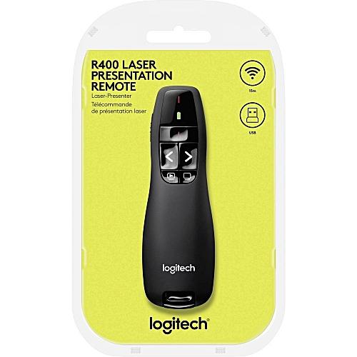 fb098f5ea4c Logitech R400 Laser Presentation Remote-Black @ Best Price Online ...