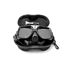 Telesin Diving Mask Glasses Case Protector Container Organizer Box for Gopro Xiaomi Yi Sportscamera