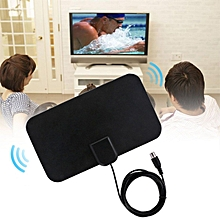 HD Digital Indoor Amplified TV Antenna Aerial HDTV TV VHF UHF DVB