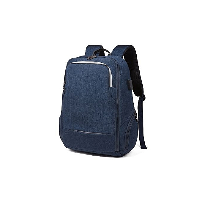 bdb597391 Business Computer Backpack Travel Waterproof Man Backpack Usb Charging  Backpack Student Function Backpack-blue