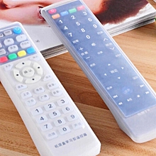 2 PCS TV Air Conditioning Silicone Remote Controller Protective Case Cover Skin