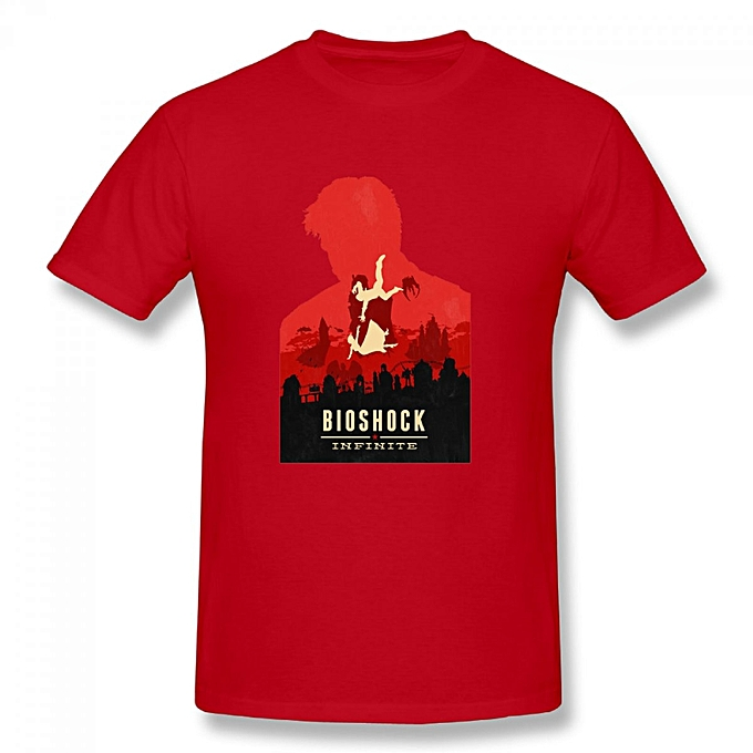 buy generic bioshock infinite poster men s cotton short sleeve print