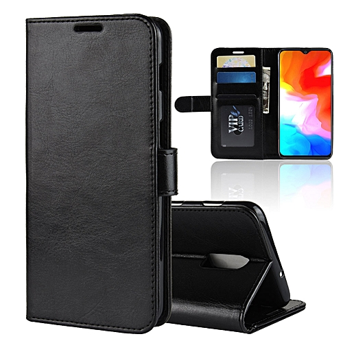 buy online ce27f 1fdd5 Oneplus 6T Leather Case,Magnetic Flip Case with Card Slot