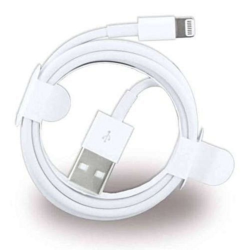 Lightning to USB Cable for iPhone 7 - White