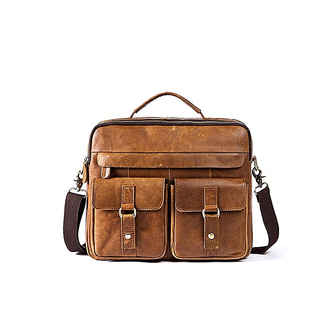 c68e50fb6ba MVA Men's Briefcases Messenger Bags Men Leather Briefcases Bag for  Documents Laptop Leather Business Bags Work Bag(8001oilredbrown)