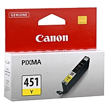 Y-451 Yellow Ink Cartridge.