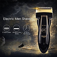 Dual-Blade Electric Shaver Rechargeable Shaving Razors Hair Trimmer For Men
