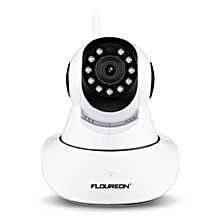 720P Wifi 1.0 Megapixel Wireless CCTV Security IP Camera UK - White