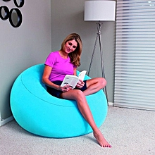 Inflatable seat - Blue with a free pump-Blue