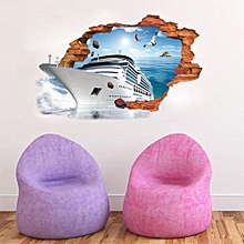 3D Cartoon Wall Stickers Mural Decal Quotes Art Home Decor-Multicolor