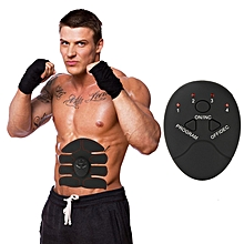 Black Smart Wireless Fitness Instrument Host Silica Gel Muscle Training Exercise Massage Machine Accessories Controller