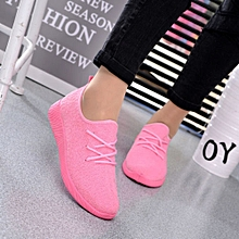 Women outdoor breathable casual sneakers (PINK)