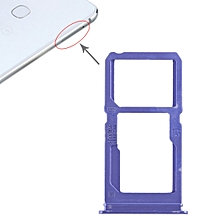 SIM Card Tray + SIM Card Tray / Micro SD Card Tray for Vivo X21i (Blue)