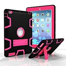 Made of Hard PC and Soft Silicone,Anti-skid and Shockproof Full Body Protective Case with Kickstand For Ipad 2/3/4 CHD-Z