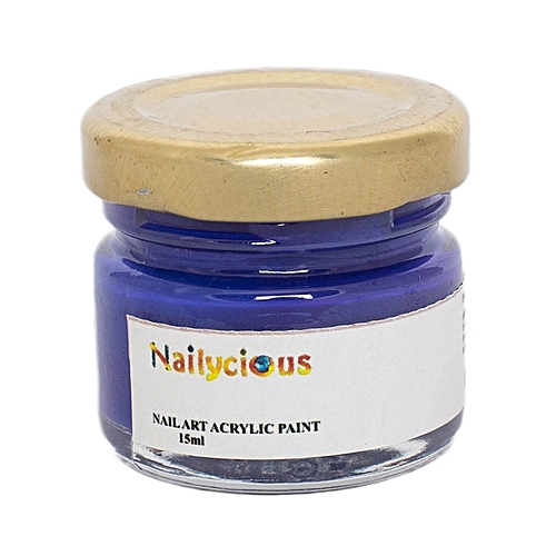 Buy Nailycious Acrylic Paint For Nail Art Extreme Purple Best