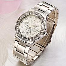 guoaivo LVPAI  Vente chaude De Mode De Luxe  Femmes Montres Femmes Bracelet Montre Watch -Silver