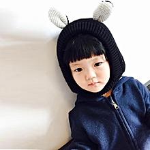 b01f11cf48321 jiuhap store Baby Toddler Kids Boy Girl Cat Knitted Crochet Beanie Winter  Warm Hat Cap-