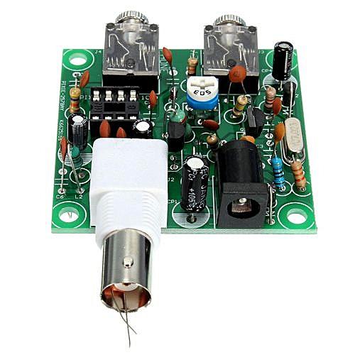 DIY RADIO 40M CW Shortwave Transmitter QRP Pixie Kit Receiver 7 023-7 026MHz