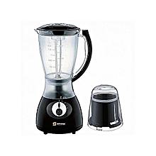 2in1 Blender with Mill & Grinder - 1.5 Litres - Black