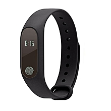 M2 Smart Watch Heart Rate Monitor Pedometer Call Reminder Sport Wristband black