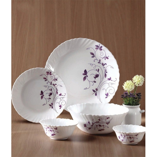 33 Pc Dinner Set Bowls Plates u0026 Spoons . & Anniversary Sales - Buy Diva La Opala 33 Pc Dinner Set Bowls ...