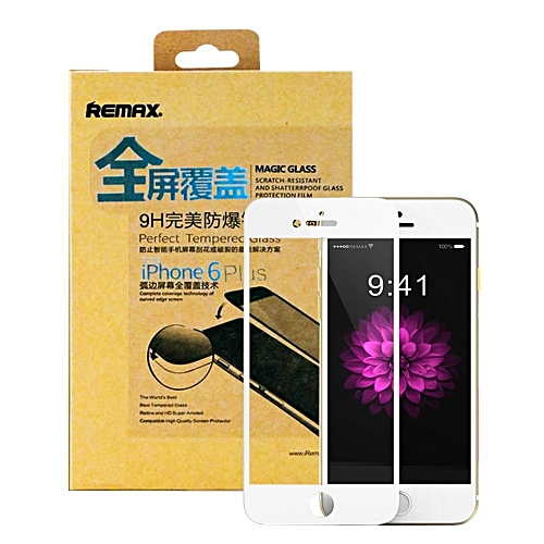 designer fashion 246a6 6ae67 REMAX iPhone 6 Plus Tempered Glass Crystal Screen Guard with Back Protector  (Apple iPhone 6 Plus / 6s Plus) TXMALL