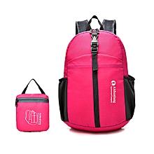 Women Men Casual Light Folding Shoulder Bag Backpack Sports Bag Travel Bag