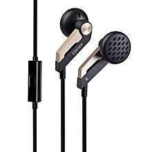 Edifier P186 High Quality Mobile Phone Headphones with Call Answering Function (Black)   POWERLI