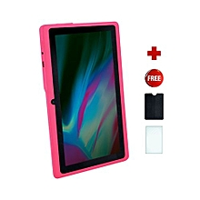 Q75S Tablet - 7 inch, 8GB, 512MB RAM, WiFi, Pink+ free screen protector + pounch