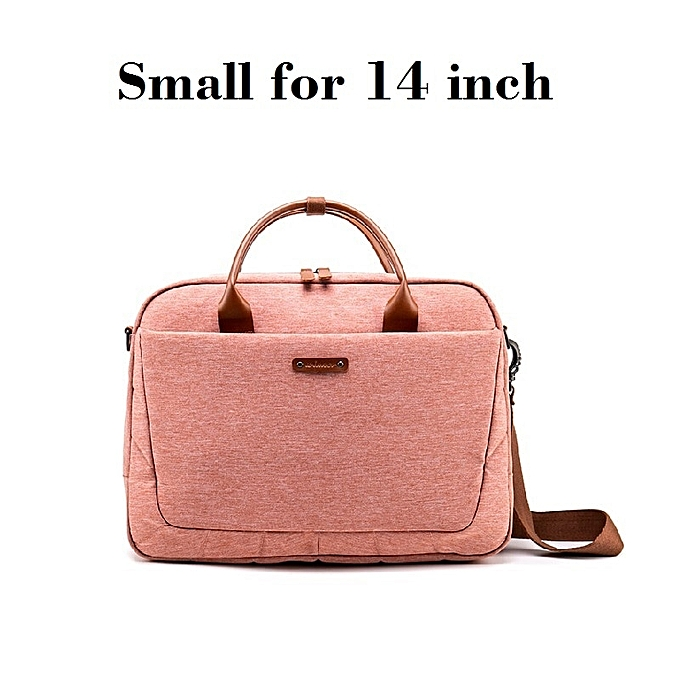 Pink Fashion Notebook Laptop Bag Women Laptop Briefcase Case for 14/15 6  Inch Pocketbook Tablet Bag Bags Case(Small for 14 inch)