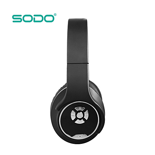dea06502abd SODO 2 in 1 Bluetooth Headphones,MH1, Speaker, FM Radio, Memory Card ,  Gaming headphone AUX IN Hands-free + Microphone