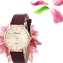 Women Wind Quartz Quality Watch Leather Strap Belt Table Watch BW