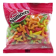 Numbers, 25g