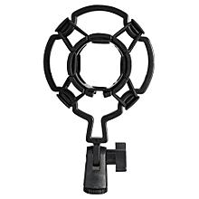 Universal Shock-proof Microphone Mount Plastic Studio Mic Holder Stand Clip For Large Diaphram Condenser
