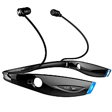 Bluetooth Neckband Headset Headphones black (Zealot H1)