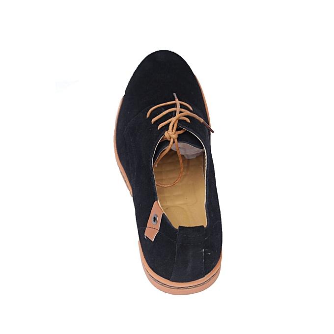 Generic Black Classic Semi Casual Shoes   Best Price  0d97eda57dca