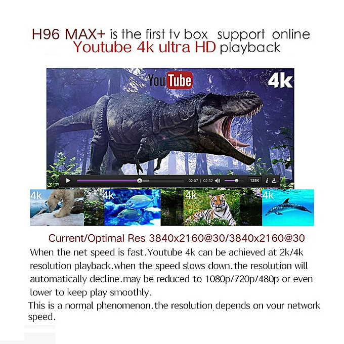 H96 MAX Plus TV Box Android 8 1 4GB 32GB Smart Set Top Box RK3328 Quad core  5G Wifi 4K H 265 Media Player H96 Pro H2 mini (Gyro Remote) YCMI-A