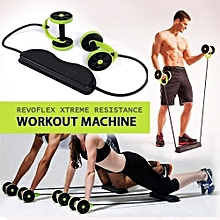 Xtreme Home Gym Fitness Trainer - Black & Green