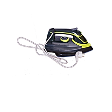 Steam Iron Box - Black With Green Stripe