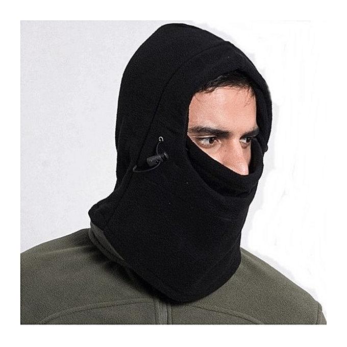 2ae3ae981 Warm Winter Beanie CS Hat Sport Clothing Cap Men Scarf Hood Ski Face Cover  Mask Black