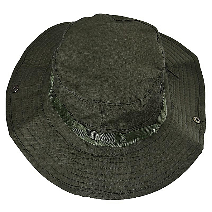 fc26601cdec Fashion Bucket Hat Boonie Hunting Fishing Outdoor Cap Brim Military ...