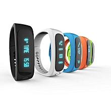 E02 Waterproof Fashion Bluetooth Smart Activity Tracker Bracelet(White)