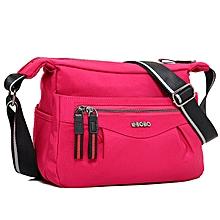 Women's Stylish Crossbody Messenger Bag Mini Zipper Bag