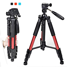 Zomei Q111 Professional Tripod Portable Pro Aluminium Tripod Accessories Camera Stand Red