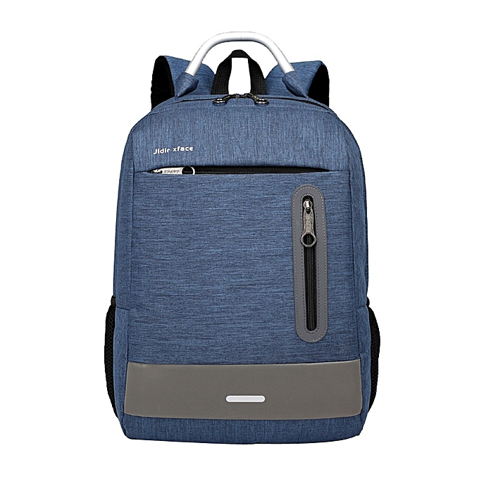 40ca1e522 jiuhap store Backpack Unisex Casual USB Business Computer Backpack Travel  Bag -Blue