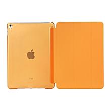 Apple 2016 iPad Pro (9.7) / iPad Air 2 (ipad 6) case, Ultra Slim Smart Cover PU Leather Case for Apple 2016 iPad Pro (9.7) / iPad Air 2 (ipad 6) (Orange) Mll-S