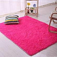 Hequeen Fashion 6 Colors Home Living Dining Bedroom Anti-skid Carpet Floor Mat Fluffy Plush Rugs