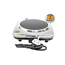 RM/355 - Ceramic Single Hot Plate - Silver