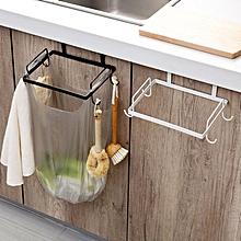 Garbage Bag Holder Plastic Bracket Stand Rack Kitchen Trash Storage Hanger