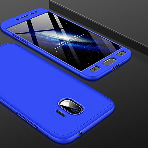 buy online 96802 eec4b 360 Degree 3 in 1 Full Body Protection Cover Case For Samsung Galaxy J2 Pro  2018 Hard PC Shell Case